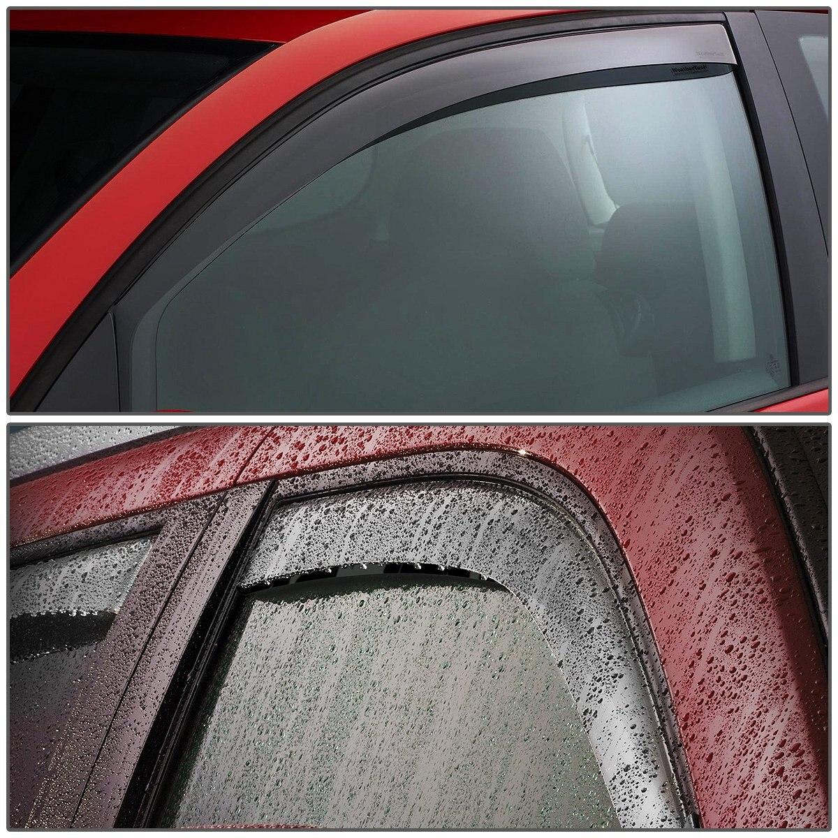 For Honda Accord 4DR CG 4pcs Tape-On Window Visor Deflector Rain Guard