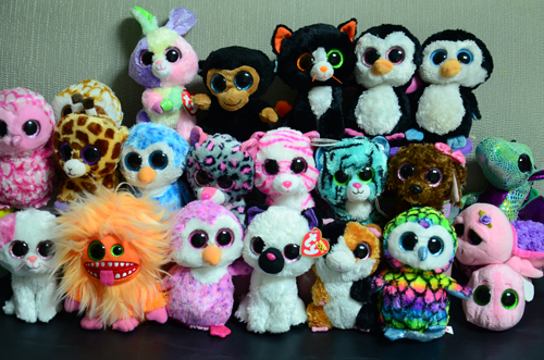 Skyleshine 50PCS/Lot 15CM Wholesale Big Eyes Plush Doll Stuffed Animal Toys For Christmas Gifts S881