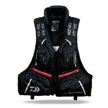 Daiwa DF-3104 Fishing Vest Breathable Detachable Fly Fishing Life Jacket Waterproof Windproof Outdoors Life Buoyancy Jacket