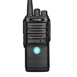 Image 5 - 2PCS Q10 Walkie Talkie วิทยุสองทิศทาง UHF แบบพกพา FMR Xunlibao CB วิทยุ 10 W โปรแกรม Interphone