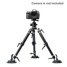 2018 ASXMOV XP02 filmagens estabilizador de Vídeo Câmera de Vídeo Car Otário suporte de Montagem Do Carro Suporte de copo de sucção Carro mount tripé carga 50 kg