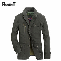 Male Spring Autumn Casual Jacket And Coat Mens Military Tactical Jackets Outerwear Men Army Green Khaki