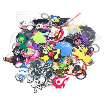 100pcs/lot Mix Style Random PVC Cartoon Key Chain Key Ring Children Anime Figure Keychain Key Holder Kid Toy Pendant Trinket - DISCOUNT ITEM  60% OFF All Category