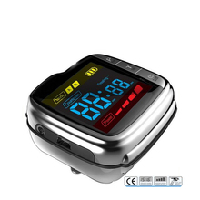 High blood pressure soft laser therapy device lllt laser wrist watch type factory offer.No side effects laser treatment machines for sale blood purifier low price phototherapy wrist type laser