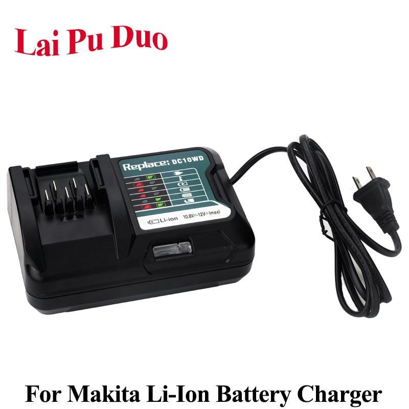 Hypermoderne For MAKITA 10.8V 12V Li Ion Battery Charger For DC10WD BL1015 ME-82