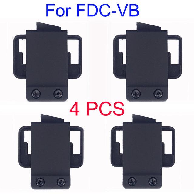 4 PCS FDCVB Helmet Headset clipes acessório para FDCVB motocicleta BT capacete bluetooth Headset bluetooth capacete da motocicleta