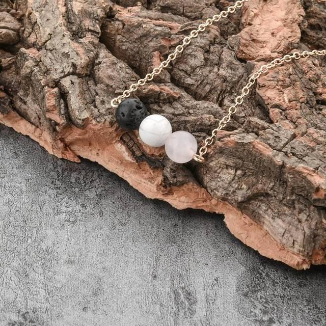 toucheart заказное ожерелье из золотой цепочки и подвески длинные фотография