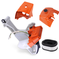 LETAOSK Gas Fuel Tank Housing Filler Cap Rear Handle Fit For Stihl MS660 066 MS650 Chainsaw