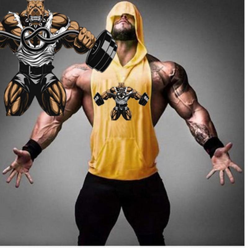 2018 Animal brand clothing Fitness   Tank     Top   Men Stringer Golds Bodybuilding Muscle Shirt Workout Vest gyms Undershirt Singlets