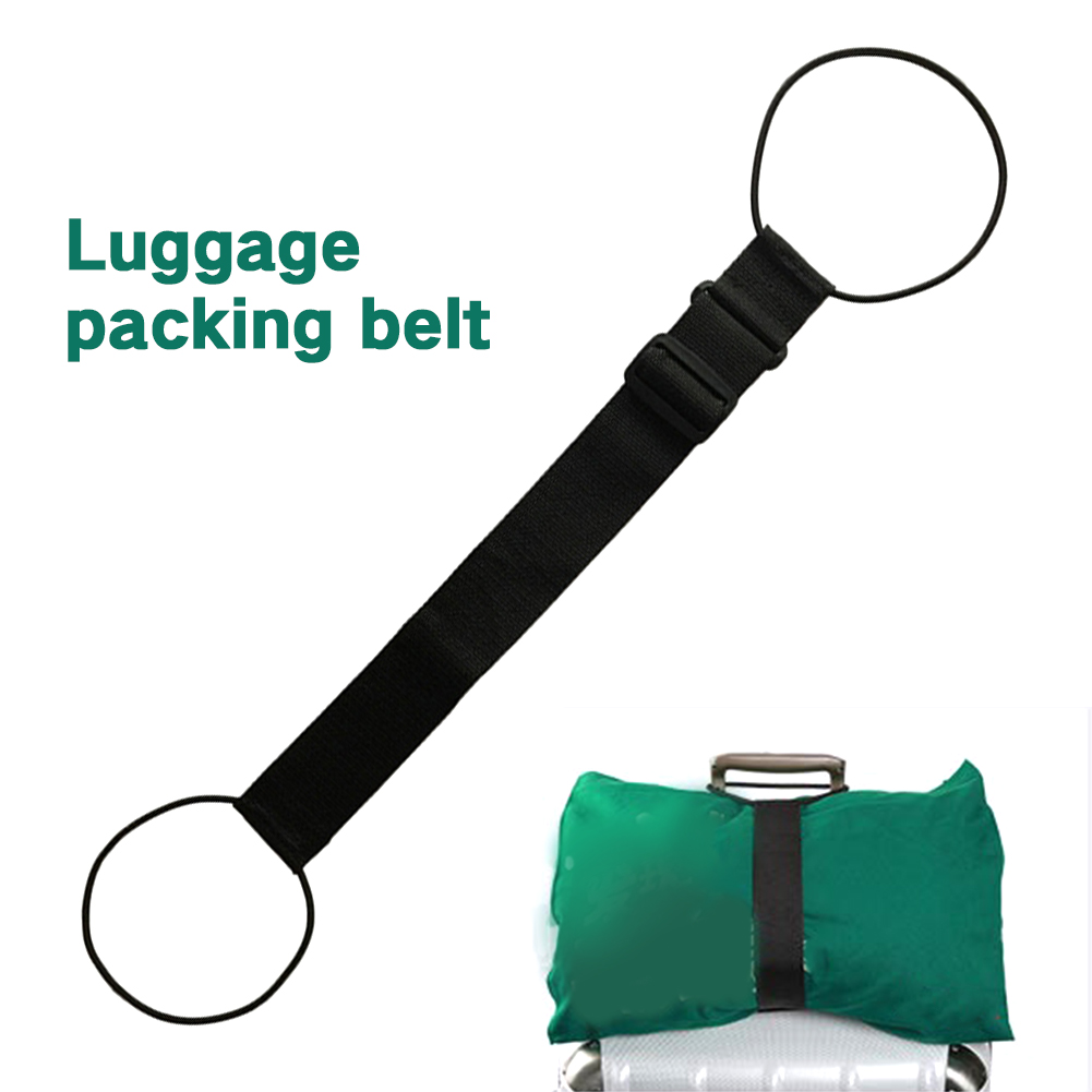 Strong Travel Luggage Strap Elastic Packing Fixed Belt Portable Adjustable Nyion Suitcase Strap Security Accessories