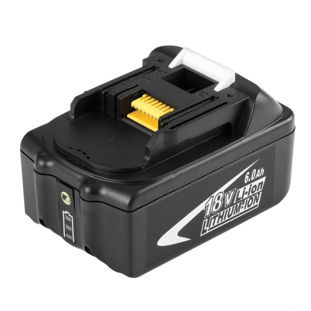 Portable 18V 5AH 5000mAh Li-Ion Battery Black Replacement Bateria Power Electronic Tool Easy to Handle for MAKITA BL1850-B eleoption 18v 2000mah li ion 2 pcs replacement power tool battery for makita 194205 3 194309 1 bl1815 7 2v 18v charger