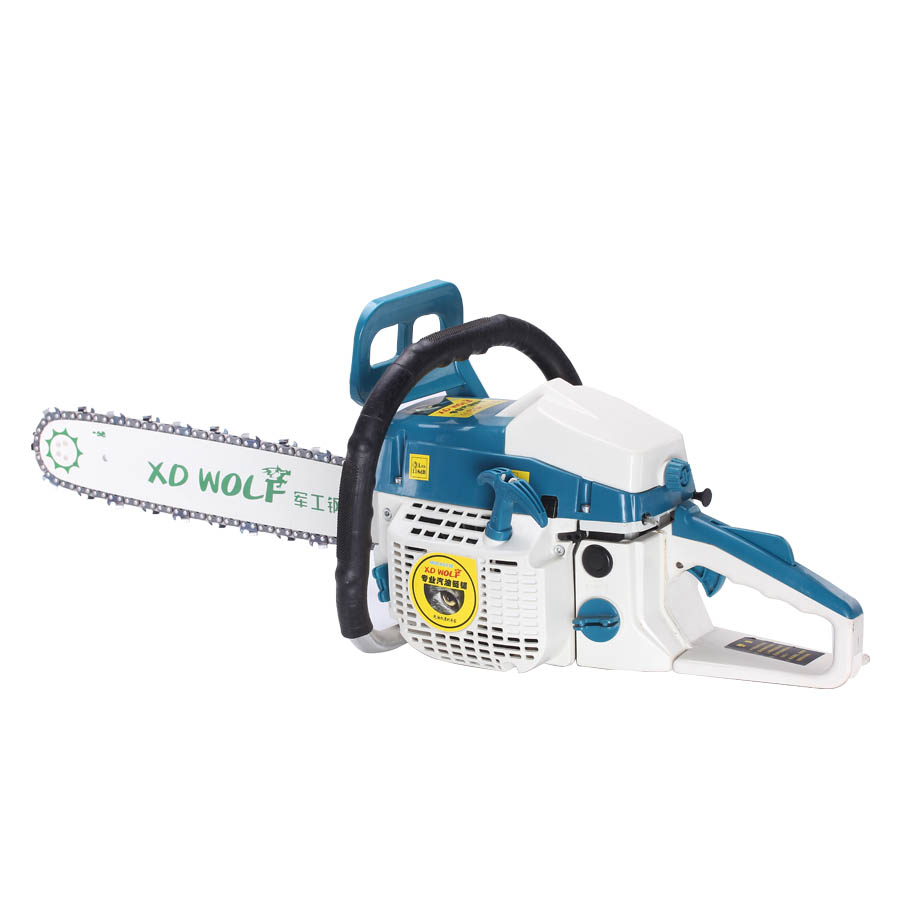 New Chainsaw Gasoline Chain Saw 2-Stroke Air-cooling 50CC 20'' 2.2KW 550mm cutting length Gasoline Chain Saw wood cutter chain saw heavy duty gasoline chainsaw 2 stroke 58cc gas chain saw 3000rpm max 10000 rpm eu plug for garden tool