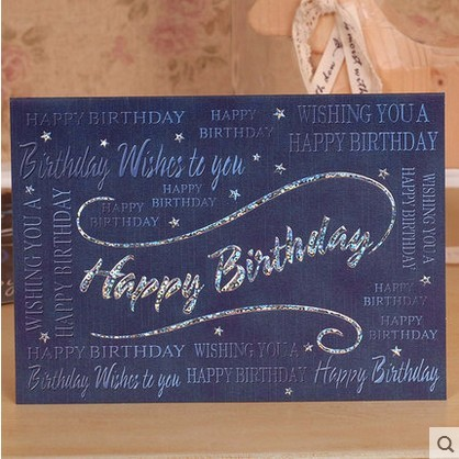 Quality Commercial Greeting Card Sent To The Elderly Seniority Teachers Day Birthday Male Womens