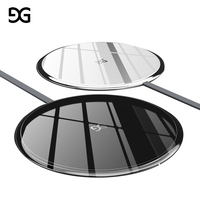 GUSGU Wireless Charger For IPhone 8 8 Plus X 10W Qi Wireless Charging Portable Wireless Charger