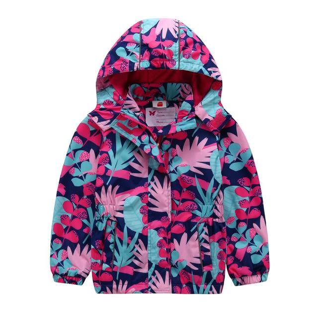 9e35de66aca58 Nouveau bébé filles vestes imperméable coupe-vent enfant manteau vêtements  d'extérieur pour enfants