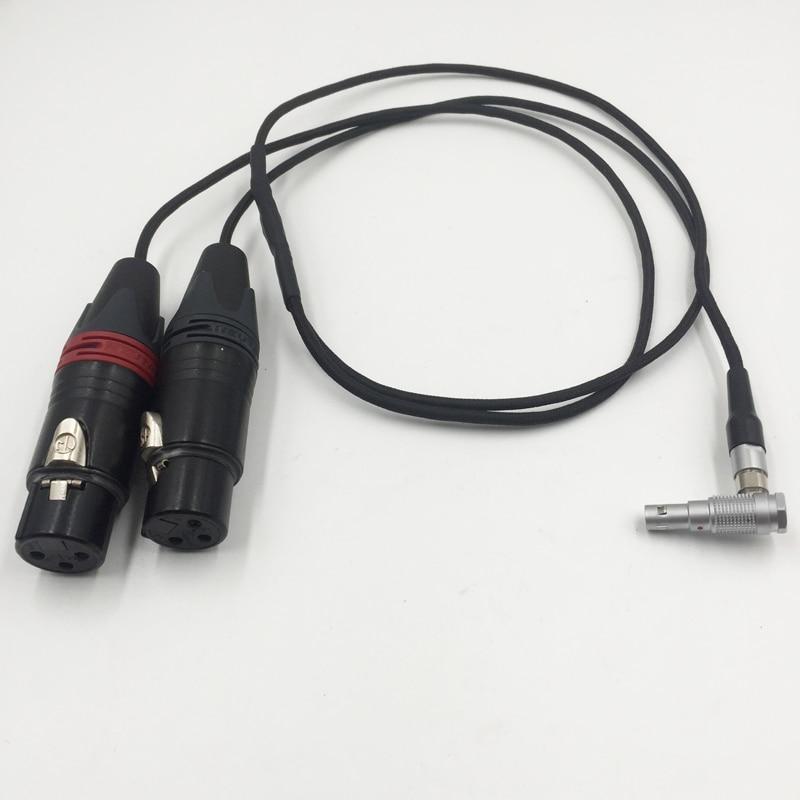 Arri Alexa Mini Audio Cable Alexa Mini two channel audio cable LEMO 00B 5 pin to