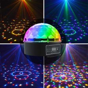 Image 5 - Atotalof DMX ステージライトクリスタルマジックディスコボール RGB LED ステージランプ音制御 DMX512 パーティーカラオケクラブバー結婚式