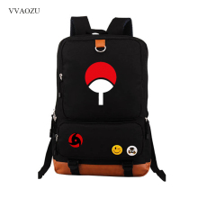 Naruto Canvas Backpack Casual Rucksacks Teenagers Bag