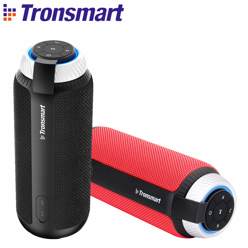 In Stock Original Tronsmart Element T6 Bluetooth 4.1 Portable Speaker Wireless Soundbar Audio Receiver Mini Speakers for MP3 getihu a9 wireless bluetooth speaker mini column usb portable audio music speakers support hands free phone call for computer