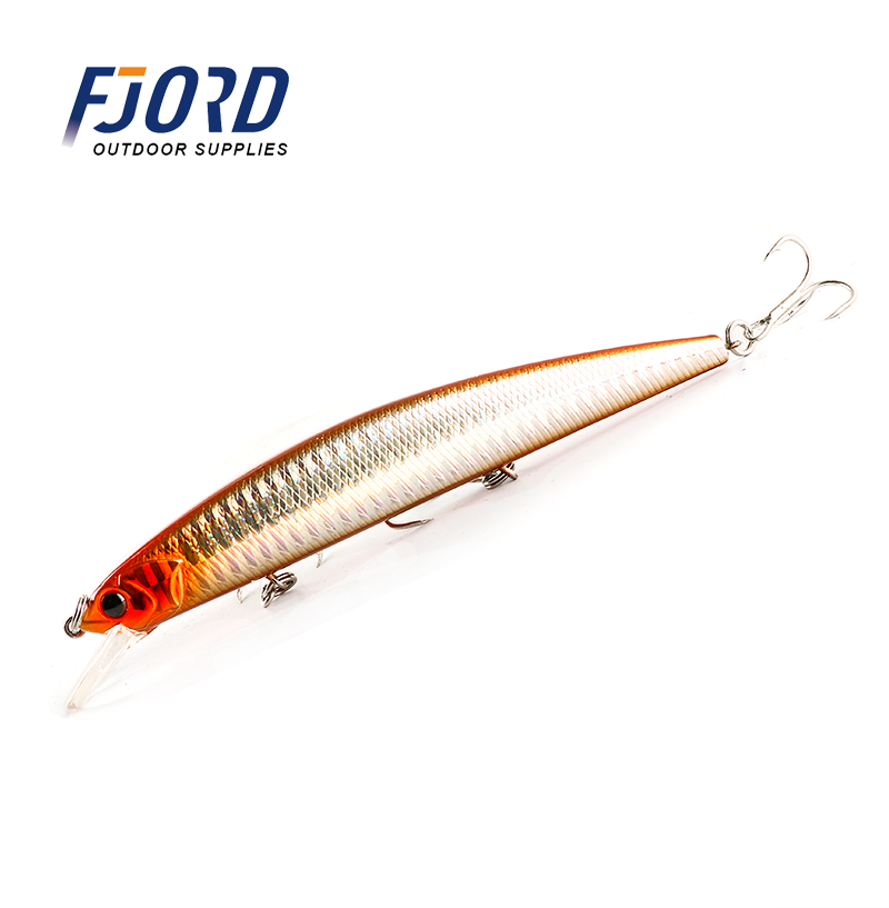 FJORD 130mm 19g Tide Minnow Fishing Lure Swimbait Jerkbait Floating Artificial Fishing Baits Pesca Topwater Lure in Fishing Lures from Sports Entertainment