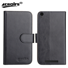 Archos 50 Access 4G Case 2017 6 Colors Flip Dedicated Leather Exclusive 100% Special Phone Cover Cases Card Wallet+Tracking стоимость