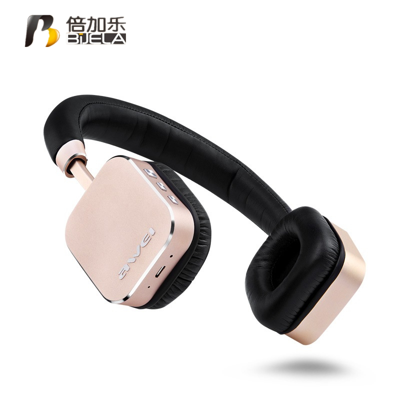 A900BL Bluetooth Headphones Headset Wireless Headphone Microphone Headset Sports Control App For iOS Android kz headset storage box suitable for original headphones as gift to the customer