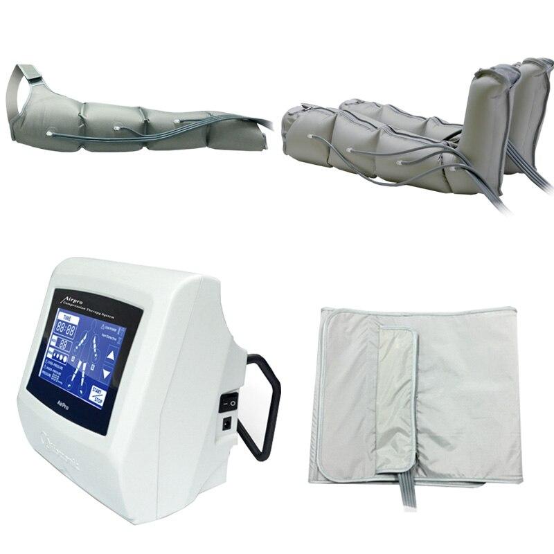 Portátil corpo terapia de pressão de ar drenagem linfática emagrecimento máquina de terapia de pressão de ar