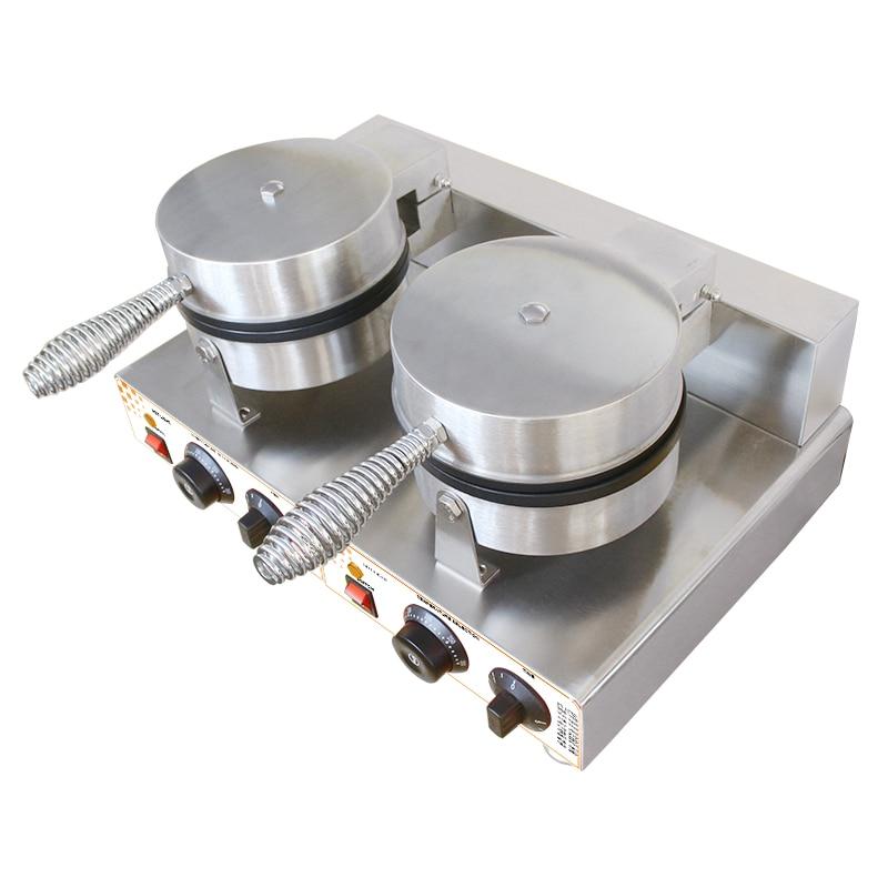 MARS Double plates waffle maker Non-stick mini waffle maker belgium waffle baker machine with CE