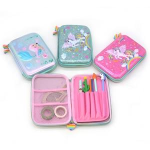 Sequin Pencil Case School Supp