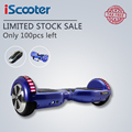 IScooter UL2272 Bluetooth Электрический Скейтборд hoverboard рулевого колеса Smart 2 колеса самостоятельная Баланс Стоя скутер hover доска