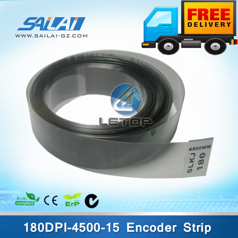 Free Shipping 5pcs lot Outdoor Printer 180dpi 4500mm 15mm Encoder Strip For Infiniti FY 3208R Wiolor