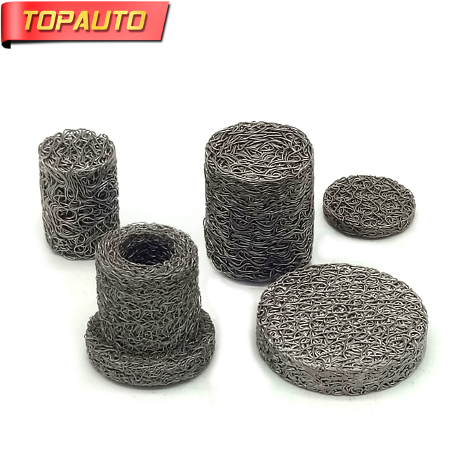 TopAuto Car Gasket D&ing Ring Mat Stainless Steel Filter Exhaust Pipe Heat Insulation Atomized Circle Net  sc 1 st  AliExpress.com & TopAuto Car Gasket Damping Ring Mat Stainless Steel Filter Exhaust ...