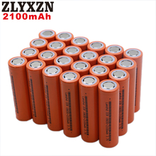 8-40PCS 2019 18650 3.7V New 100% Original 18650 2100mAh Li ion ICR18650 rechargeable 18650 battery for Flashinglig notebook стоимость