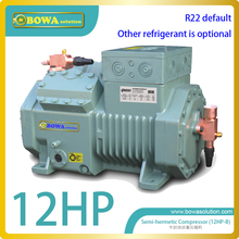 M4 12HP(R22)  refrigeration reciprocating compressor of condensing unit for  freezer room replace  Bitzer 4NCS-12.2(Y)