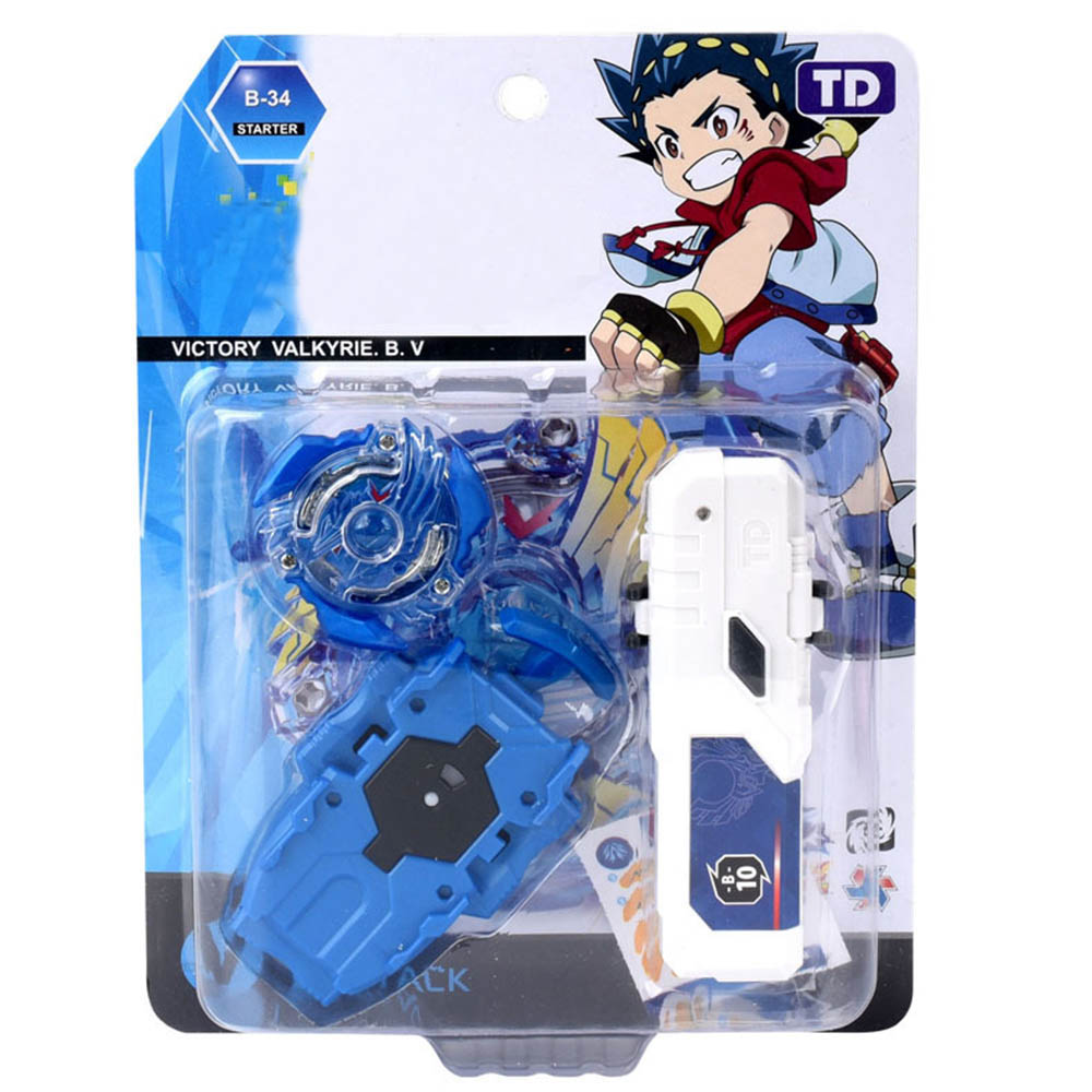 Valkyrie Beyblades Burst Toys For Children Gyro Spinning Top With Grip Launcher And HandleBar  --114023
