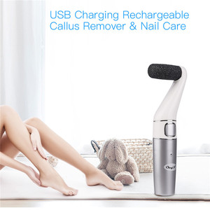 Image 2 - USB Rechargeable Foot File Professional Electric Feet Callus Remover Pedicure Foot Sander Dead Skin Callus Remover Foot Care 31
