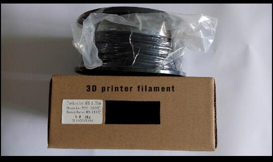 Conductive ABS, Conductive, 3D printer supplies, factory direct sales,, special material filament ovxuan factory direct sales 100