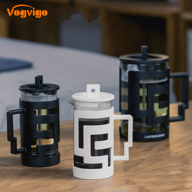 VOGVIGO 2018 Hot Multifunctional Coffee French Press Pot Glass Teapot Coffeepot french press Household Kettle Tea Pot 350/800ml