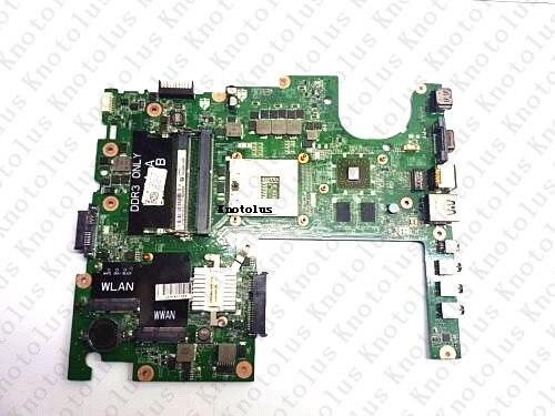 04DKNR DAFM9CMB8C0 for DELL studio 1558 laptop motherboard ATI HD 5470 HM55 DDR3 Free Shipping 100% test ok видеорегистратор videovox cmb 100