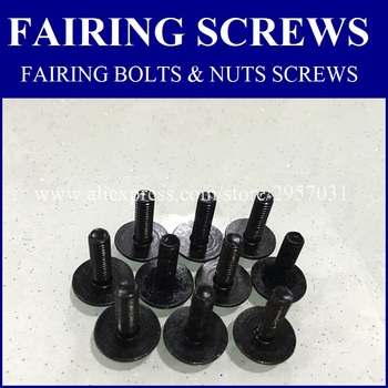 CJ Fairing bolts kit For SUZUKI KATANA 600 750 GSX 600F 750F GSX600F GSX750F 1988-1997 Body Fairing Bolt Screw Fastener Fixation image