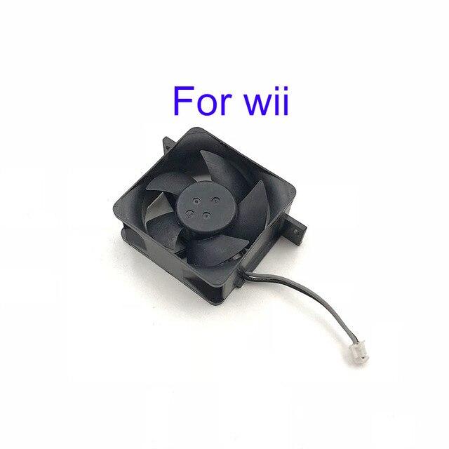 10pcs Original utilisé pièces de réparation ventilateur de refroidissement interne pour Console Wii u pour contrôleur wii