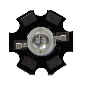 Image 2 - 50pcs 3W Led Diode 3W 5W Light 2 Chips 3W 5W led diode Emitter Blue 450nm UV Diode 395nm IR 730nm 740nm high power UV lamp PCB
