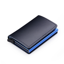 Casekey Luxury Mens Top Grain Genuine Leather Wallet Rfid Blocking Credit Card Holder