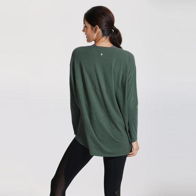 Casual Long Sleeves Pima Cotton Workout T-shirt