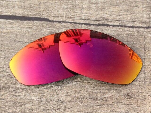 Policarbonato-Fire Red Espelho Lentes de Reposição Para óculos de Sol  Suiças Quadro 100% 98fb72f5ab