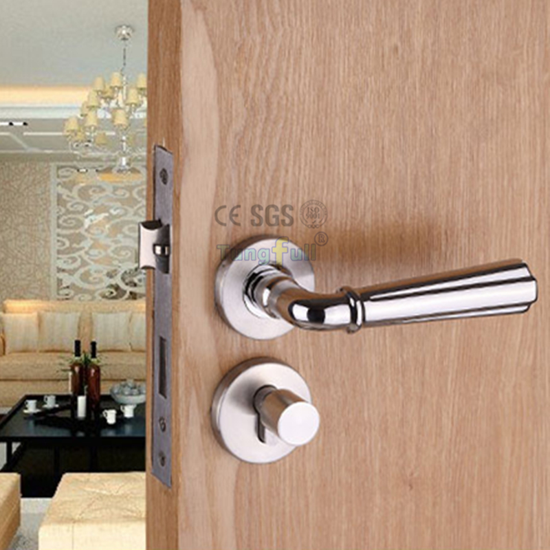 304 materials split engineering locks simple design door for Door knob design house