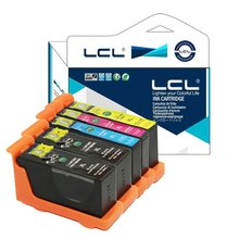 LCL 105XL 100XL 105 100 XL (5-Pack) Ink Cartridge Compatible for Lexmark S301/302/305/S405/409/S505/S605/S308/S408/S508/S608/815