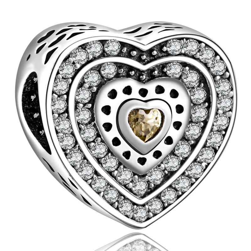 Rruaza të bukura të bukura të lartë 925 të argjendit me kristal - Bizhuteri të modës - Foto 3