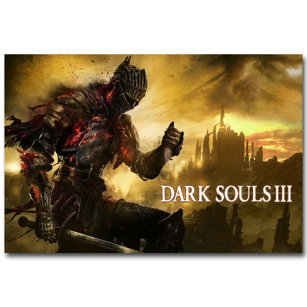 Dark Souls 2 3 Hot Game Silk Poster Print 12x18 24x36 inch 002