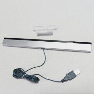 Image 2 - New USB TV Hồng Ngoại Ray Có Dây Cảm Biến Từ Xa Bar Receiver Cuộn Cảm đối với Nintendo Wii Console